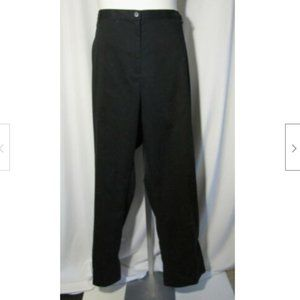 Lands' End 26W NEW Black Chinos Pants